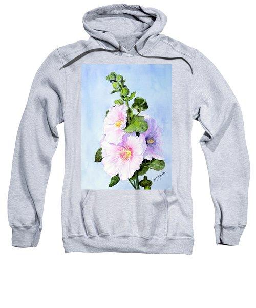 Finally Hollyhocks Sweatshirt
