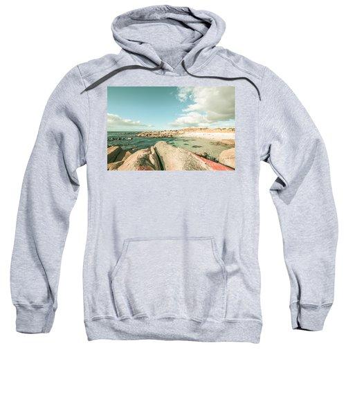Fine Art Pastel Seaside Sweatshirt