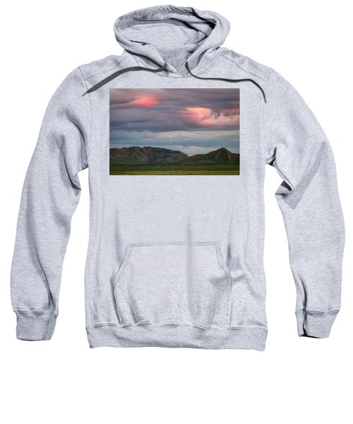 Glow In Clouds Sweatshirt