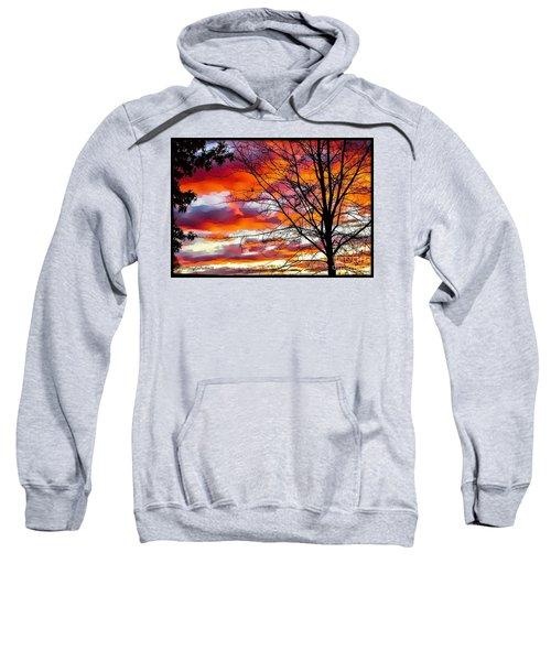 Fire Inthe Sky Sweatshirt