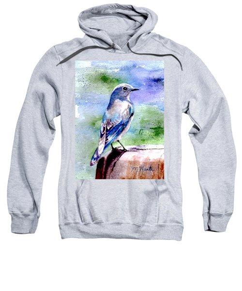 Firehole Bridge Bluebird - Female Sweatshirt