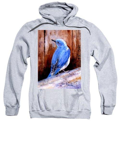 Firehole Bridge Bluebird - Male Sweatshirt