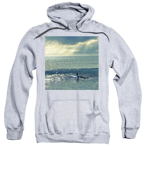 First Of The Day Sweatshirt