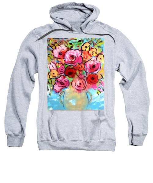 First Roses Of Summer Sweatshirt
