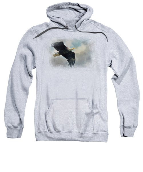 Fish In The Talons Sweatshirt by Jai Johnson