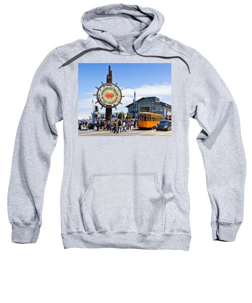 Fishermans Wharf - San Francisco Sweatshirt