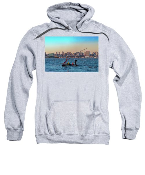 Fishermen And The Maputo Skyline Sweatshirt