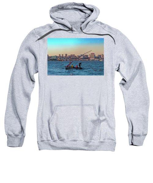 Fishermen And The Maputo Skyline Sweatshirt