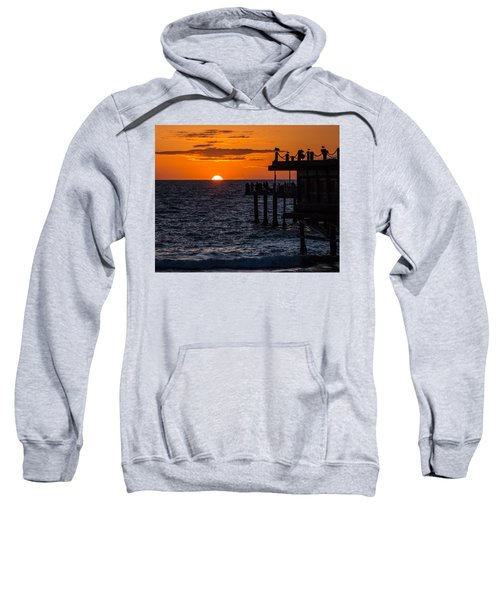 Fishing At Twilight Sweatshirt