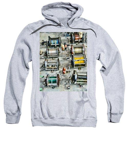 Fishing - Fishing Reels Sweatshirt