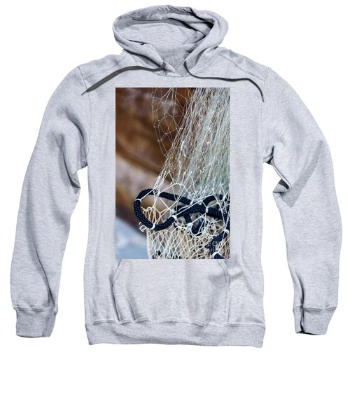 Fishing Net Details - Rovinj, Croatia Sweatshirt