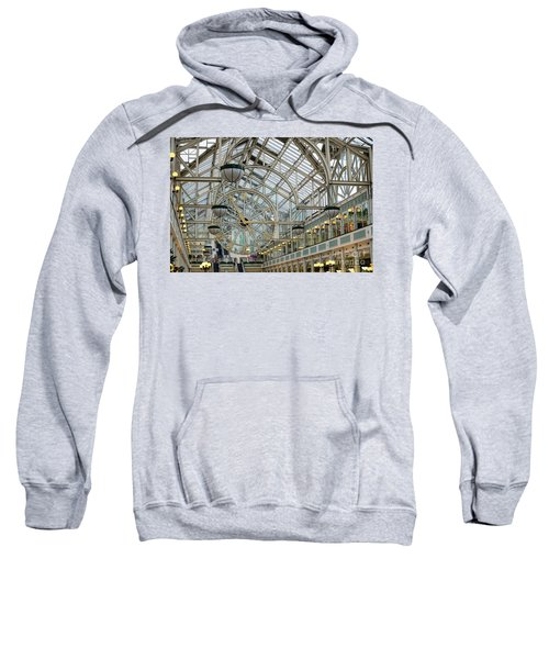 Five To Three - At St. Stephens Green Shopping Centre In Dublin Sweatshirt