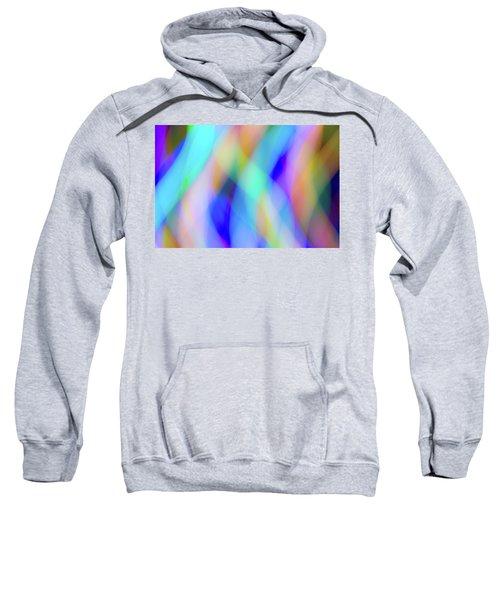 Flames Of Iridescence Sweatshirt