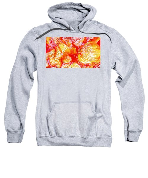 Flaming Hosta Sweatshirt
