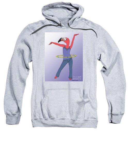 Flamingo Hoop Sweatshirt
