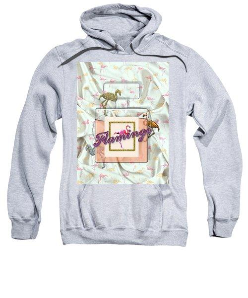 Flamingo Sweatshirt by La Reve Design