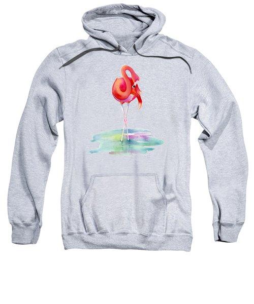Flamingo Primp Sweatshirt