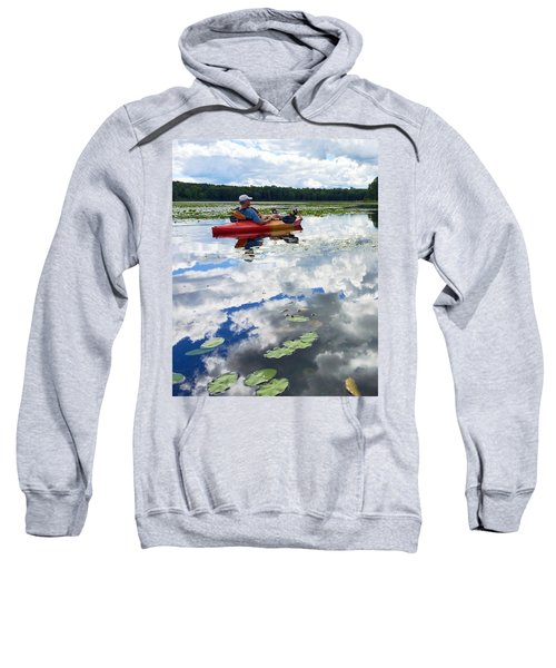 Floating In The Sky Sweatshirt