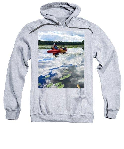 Floating In The Sky Sweatshirt