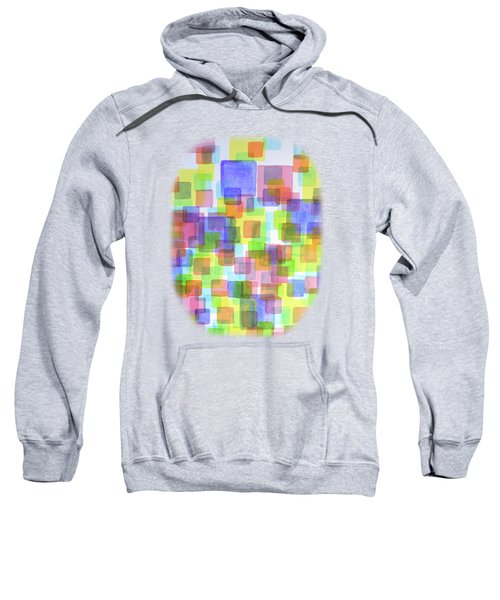 Floating Lightful Squares Sweatshirt
