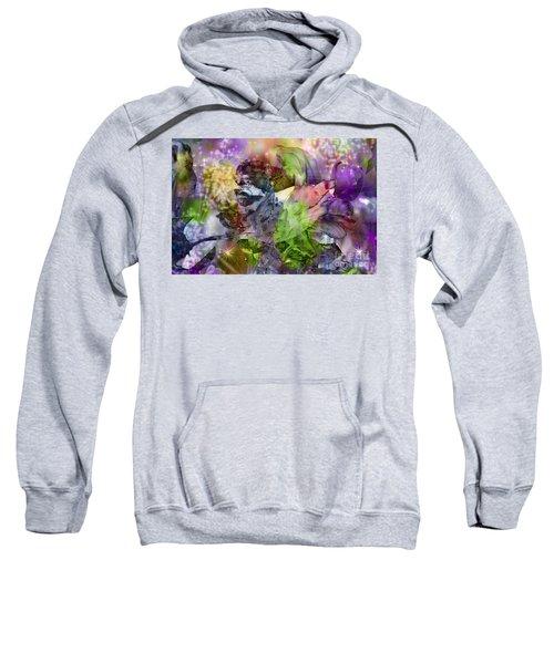 Floral Dream Of Oriental Beauty Sweatshirt