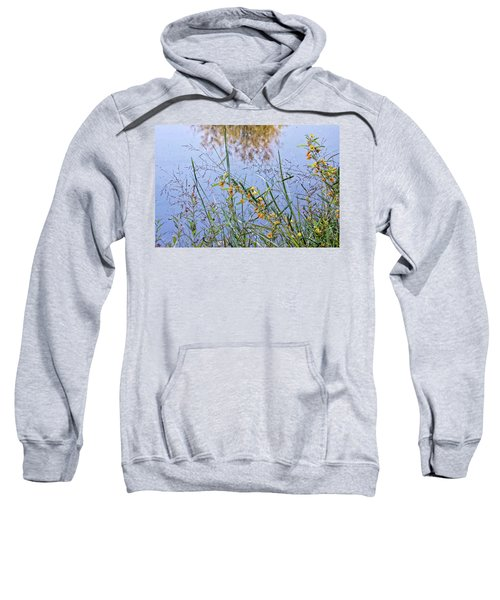 Floral Pond  Sweatshirt