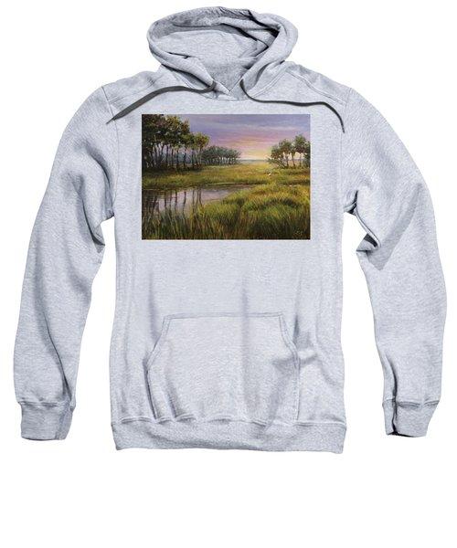 Florida Marsh Sunset Sweatshirt