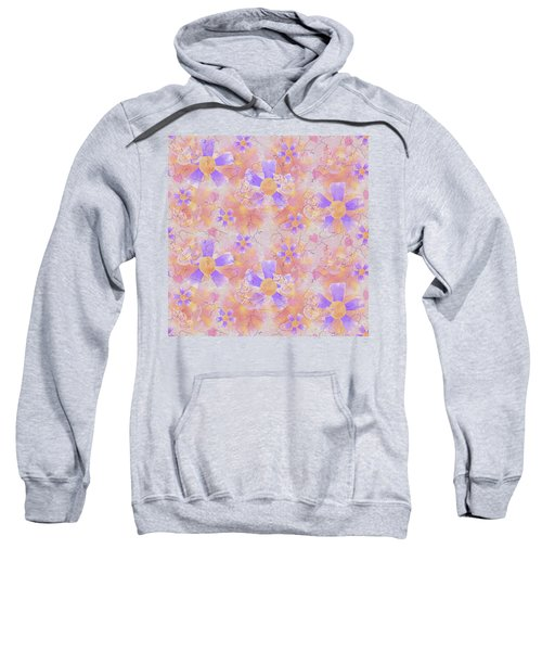 Flower Clown Pattern Sweatshirt