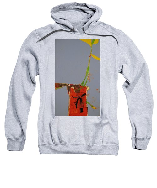Flower In Pitcher- Abstract Of Course Sweatshirt