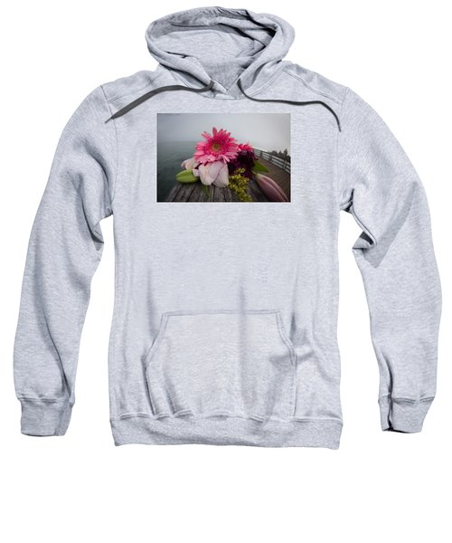 Sweatshirt featuring the photograph We All Die Sometime by Lora Lee Chapman