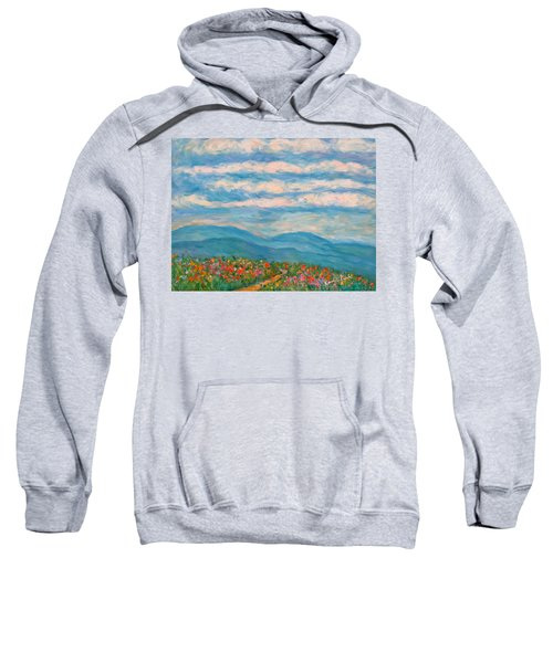 Flower Path To The Blue Ridge Sweatshirt