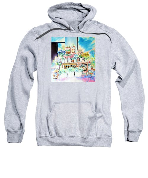 Flower Shop In Paris Sweatshirt