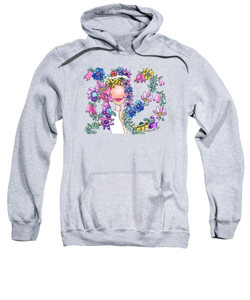 Flowers As Fashion Sweatshirt