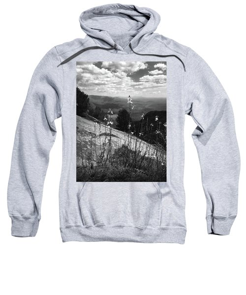 Flowers At The Top Of Table Rock Trail Sweatshirt