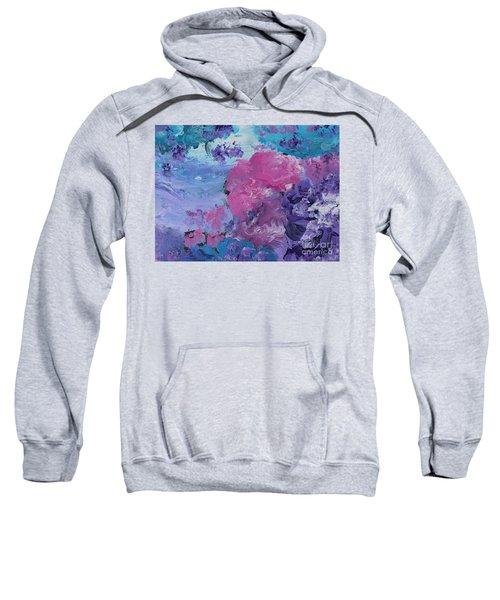 Flowers In The Clouds Sweatshirt