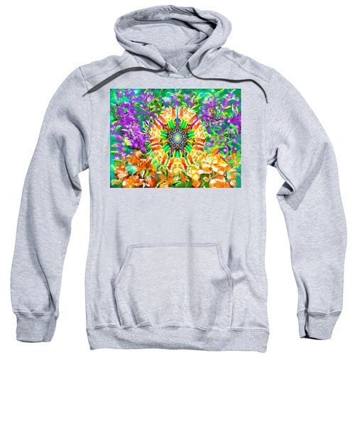 Flowers Mandala Sweatshirt