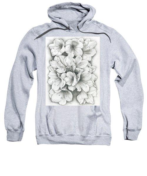 Clivia Flowers Pencil Sweatshirt
