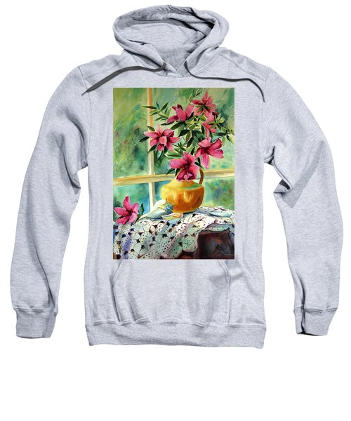 Flowers Shells And Lace Sweatshirt