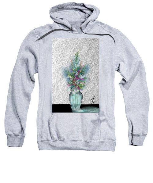 Flowers Study Two Sweatshirt