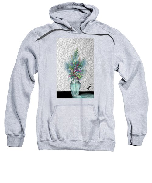 Flowers Study Two Sweatshirt