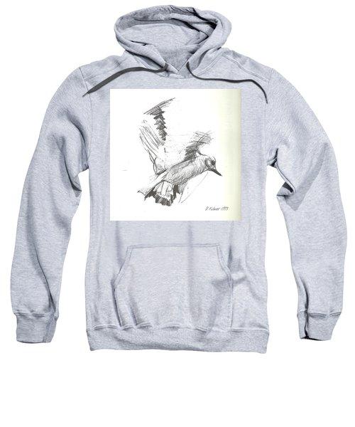 Flying Bird Sketch Sweatshirt