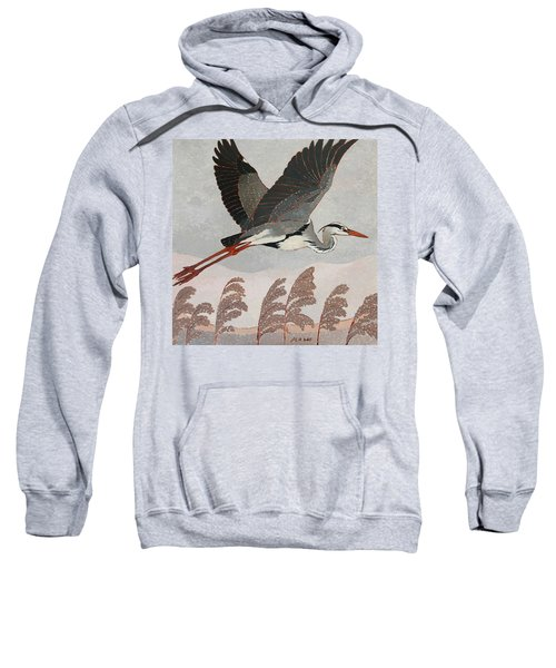 Flying Heron Sweatshirt