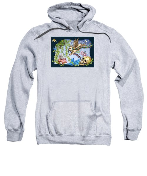 Flying Pig Party 2 Sweatshirt