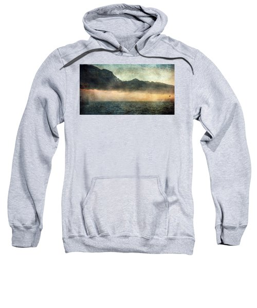 Fog On Garda Lake Sweatshirt