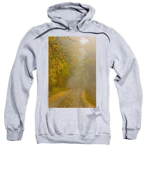 Foggy Autumn Morn Sweatshirt