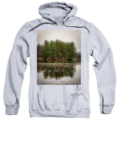 Foggy Island Reflections Sweatshirt