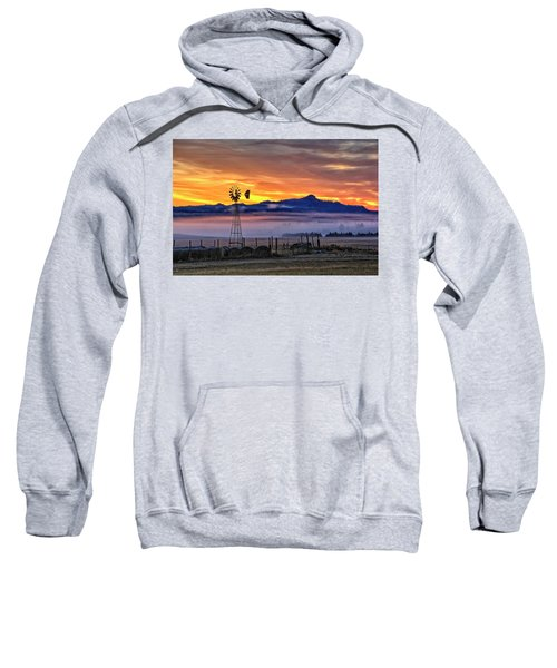 Foggy Spearfish Sunrise Sweatshirt