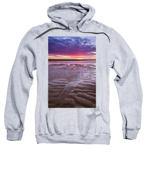 Folds In The Sand - Vertical Sweatshirt