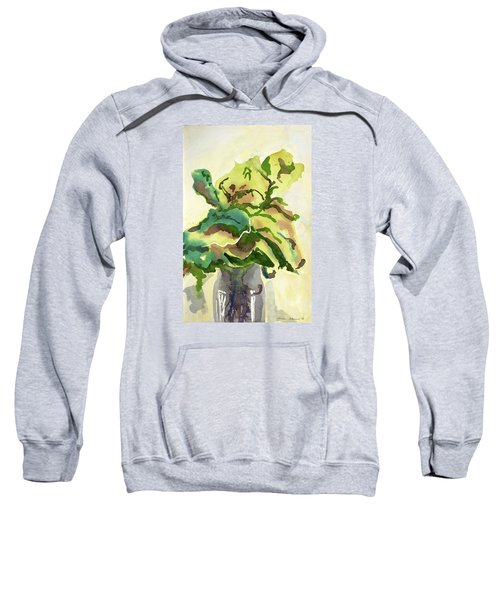 Foliage In Vase Sweatshirt