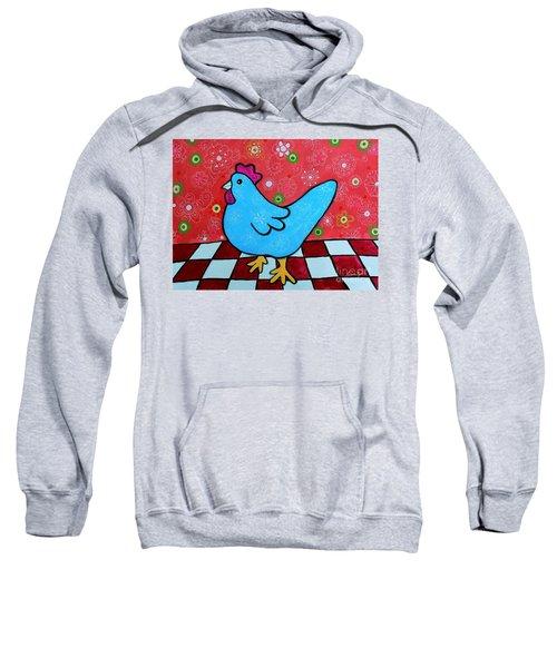 Folk Art Rooster Sweatshirt